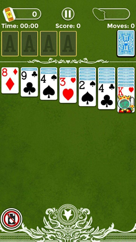 Solitaire карточный сеанс